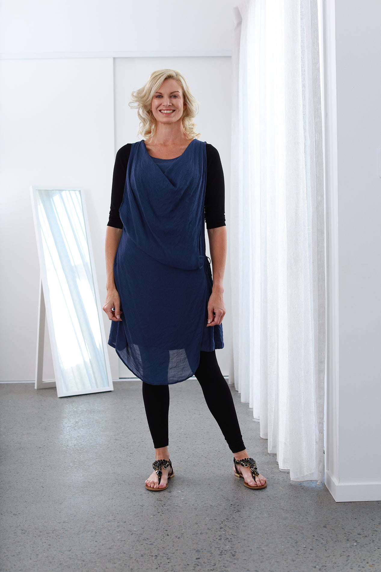 Athena French Navy NEW SIZE RANGE XS to 5XL