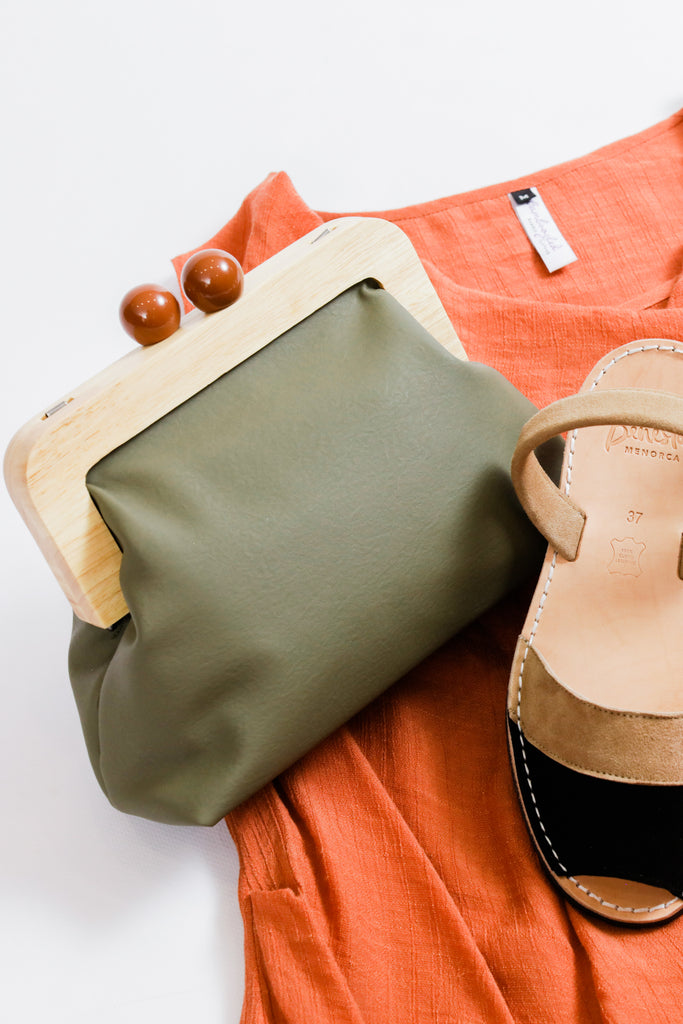 The Purse Bag Khaki
