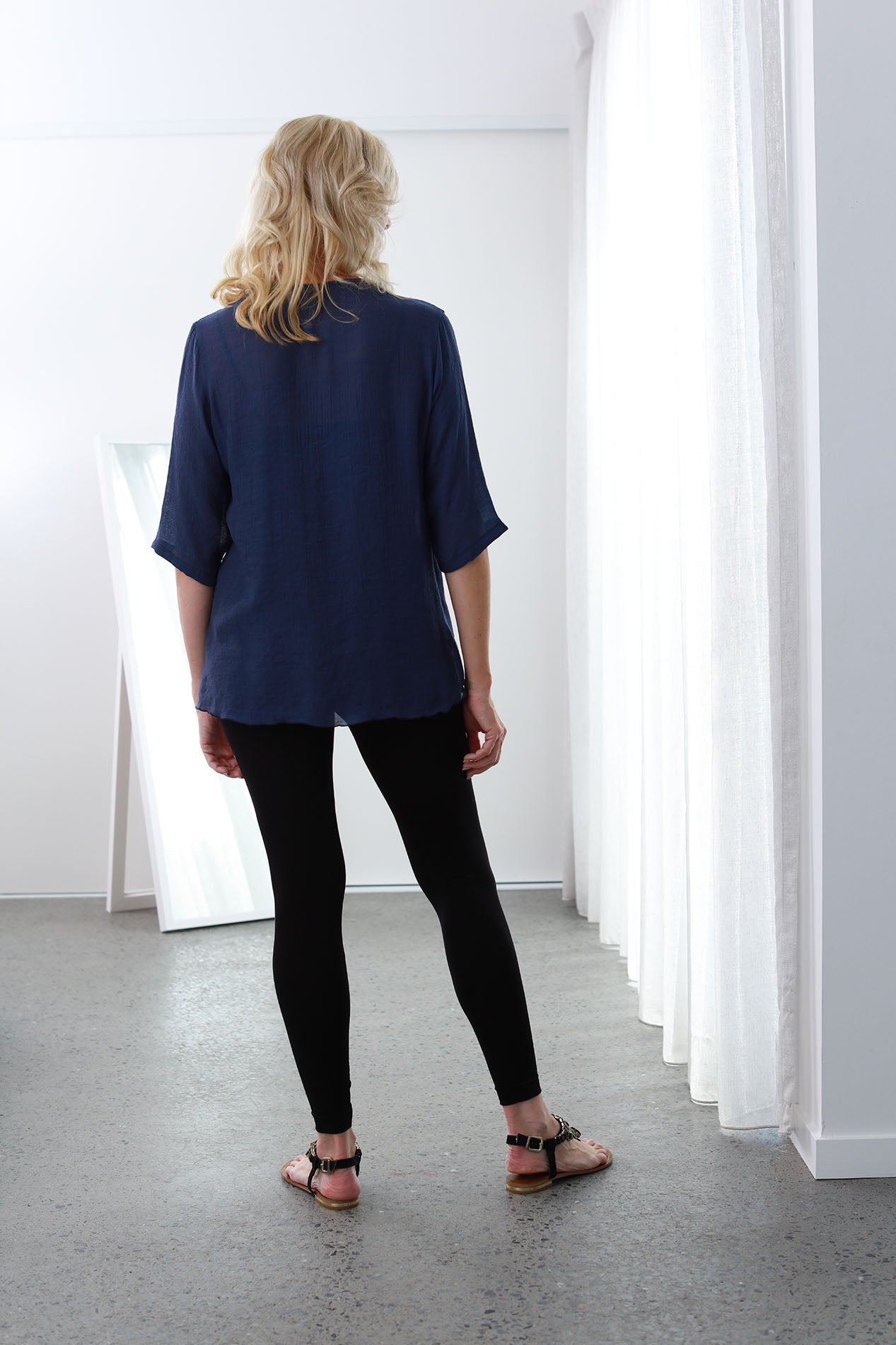 Infinity Top/Jacket French Navy