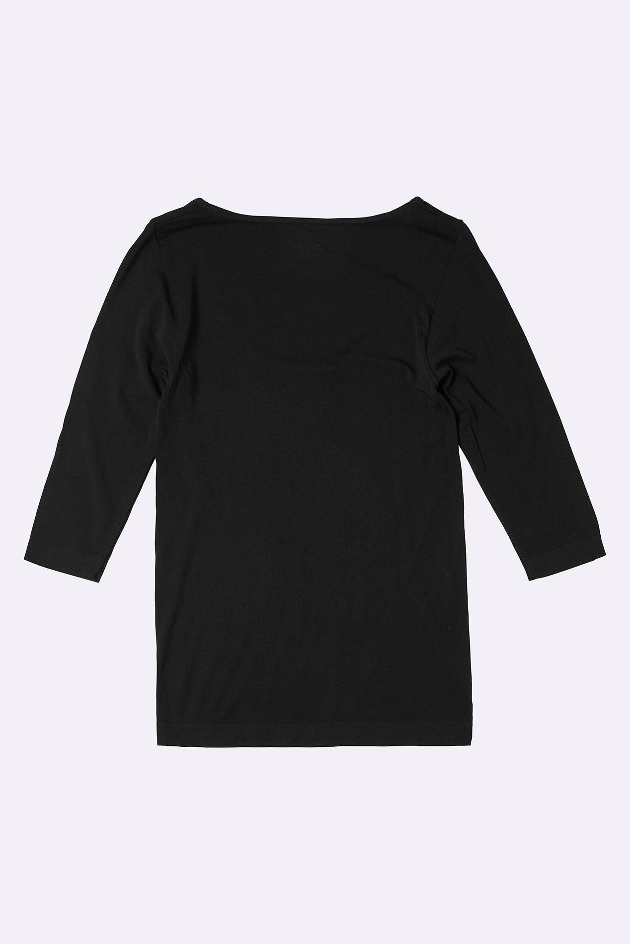 3/4 Sleeve Top Black