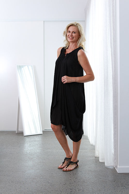 Sue Ellen Midnight Black NEW SIZE RANGE XS to 5XL