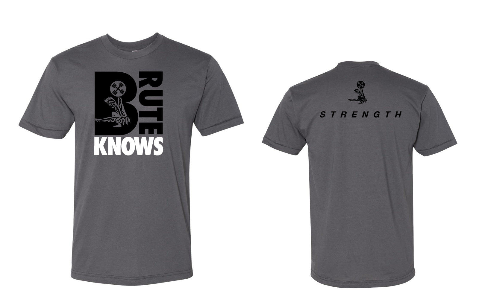 Brute Knows Strength Tee