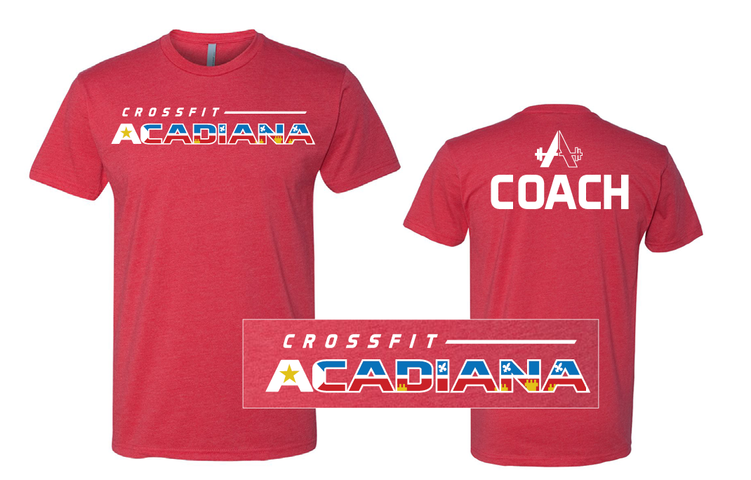 CrossFit Acadiana - Red Unisex T-shirt