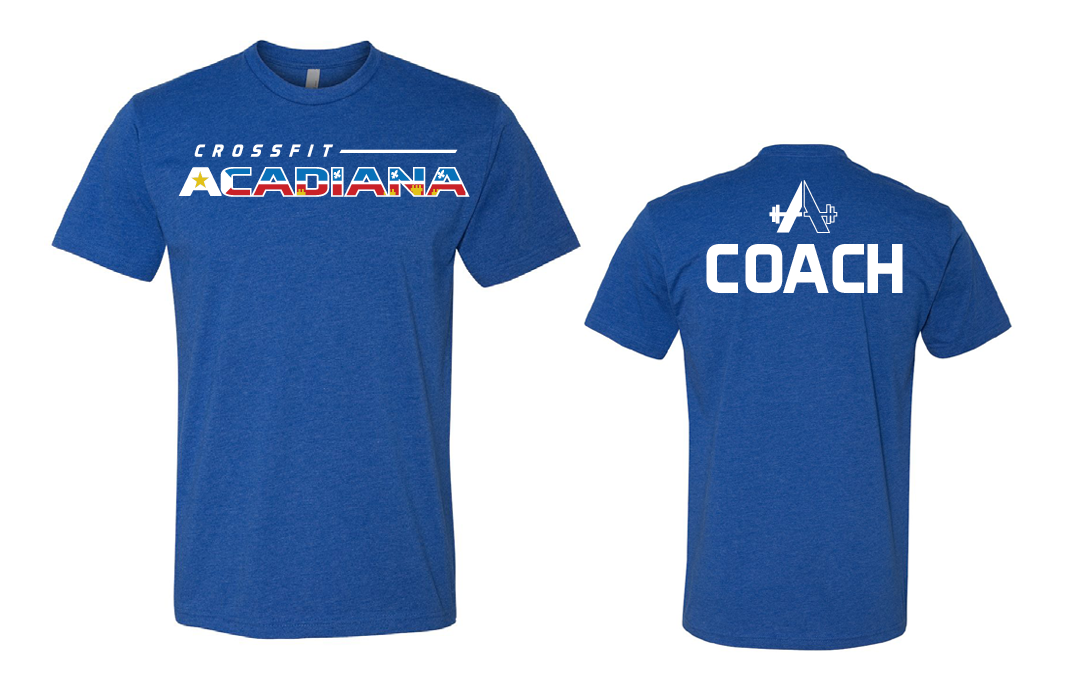 CrossFit Acadiana - Blue Unisex T-shirt