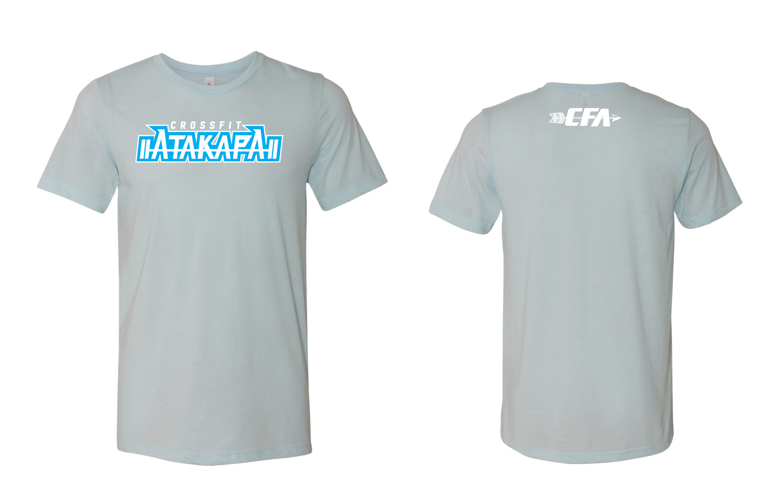 CrossFit Atakapa:  Ice Blue Tee