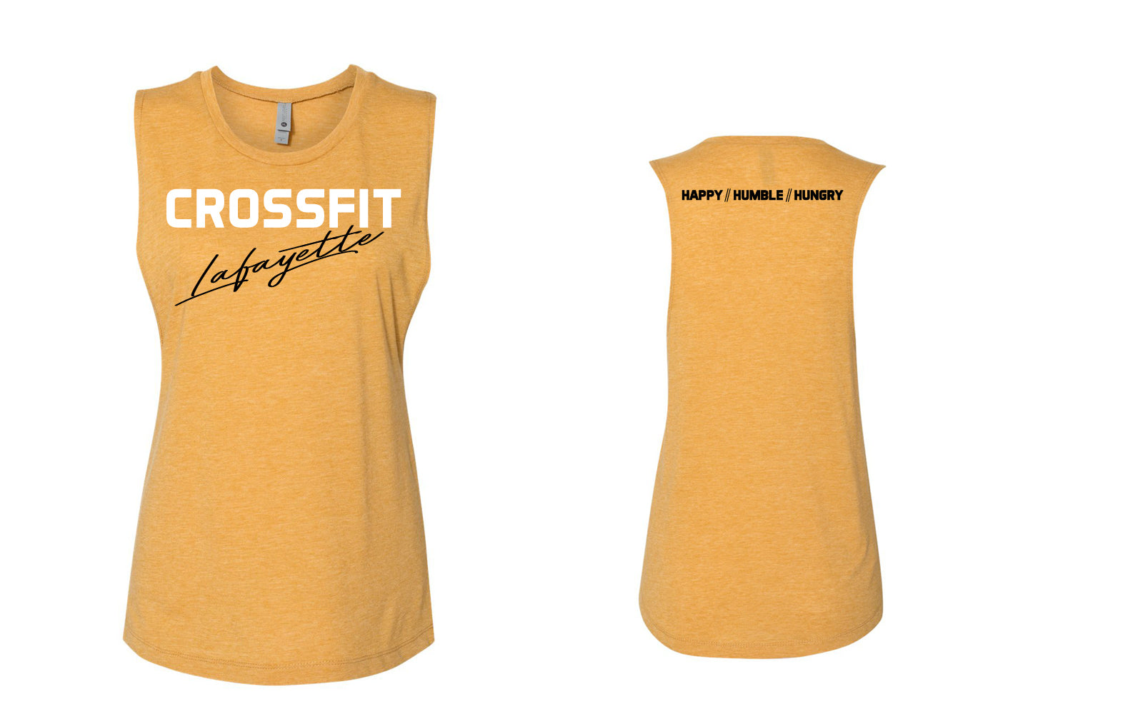 Crossfit Lafayette - Happy Humble Hungry Tank