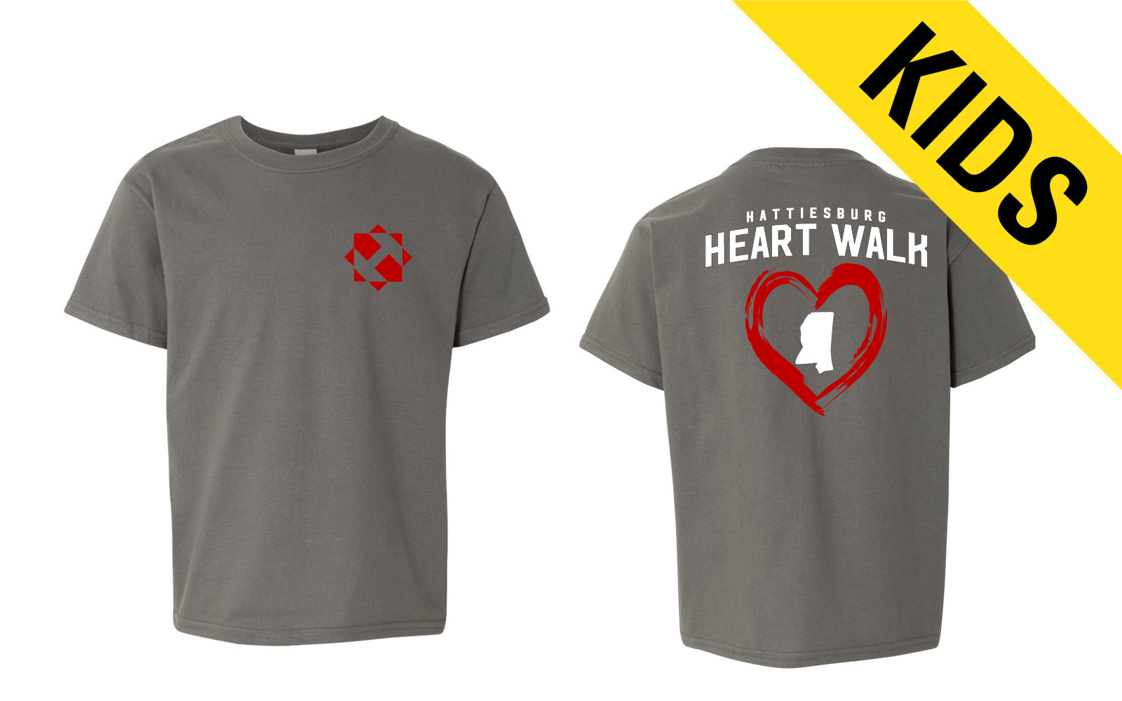 Hattiesburg Heart Walk Youth Tee