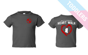 Hattiesburg Heart Walk Toddler Tee