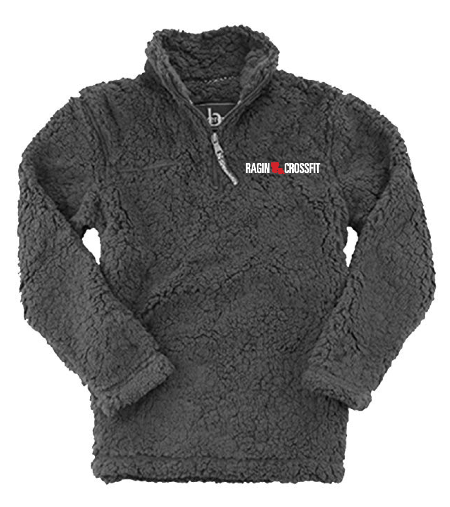 Ragin CrossFit - Embroidered Sherpa Pullover