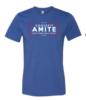 Crossfit Amite:  Make Fitness Great Again Unisex Tee *Available in 4 Color Options
