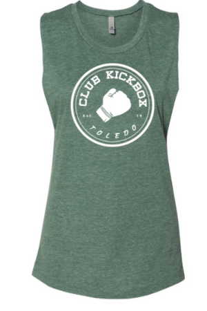 CKBOH Instructor - Circle Logo Ladies Muscle Tank *Available in 4 Color Options