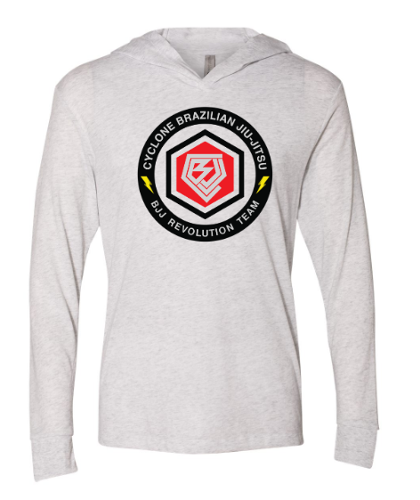 Cyclone:  Adult Long Sleeve Hooded Tee  *Available in Multiple Colors