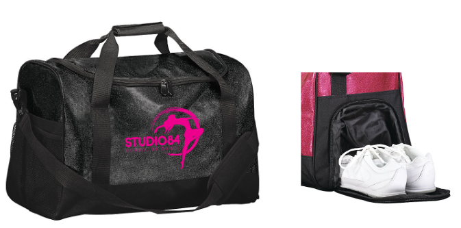 Studio 84 - Watch Me Shine Glitter Duffle Bag