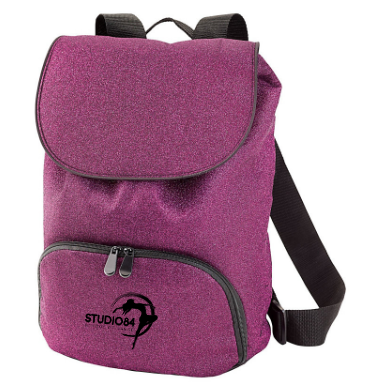 Studio 84 - Glitter Glam Backpack *Available in 3 Color Options