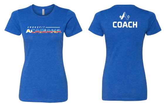 CrossFit Acadiana - Blue Women's Cut T-shirt