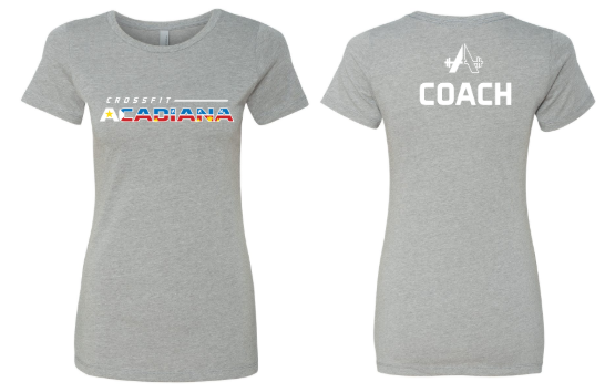 CrossFit Acadiana - Grey Women's Cut T-shirt