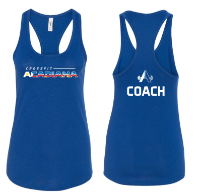 CrossFit Acadiana - Blue Tank