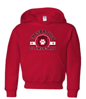CES - Youth Hooded Sweatshirt  *Available in 2 Color Options