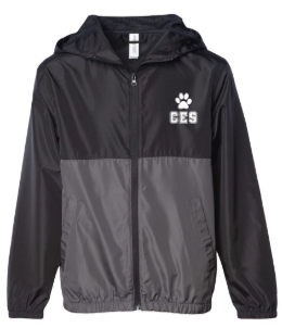 CES - Youth Lightweight Windbreaker  *Available in 2 Color Options