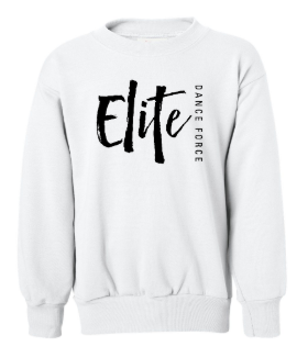 Elite Dance Force - Youth Street Logo Crewneck Sweatshirt