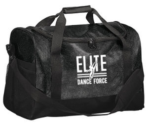 Elite Dance Force - Embroidered Glitter Duffle Bag