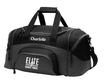 Elite Dance Force - Embroidered Colorblock Duffle
