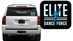 Elite Dance Force - Logo Car Decal *Available in 2 Size Options