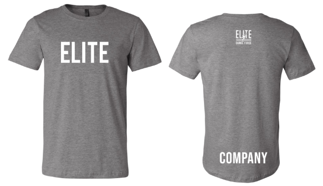Elite Dance Force Company Adult Short Sleeve Tee
