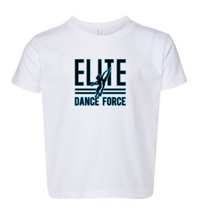Elite Dance Force - Toddler Logo Tee  *Available in 2 Color Options
