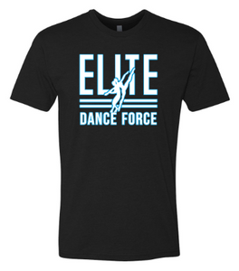 Elite Dance Force - Adult Logo Tee  *Available in 3 Color Options