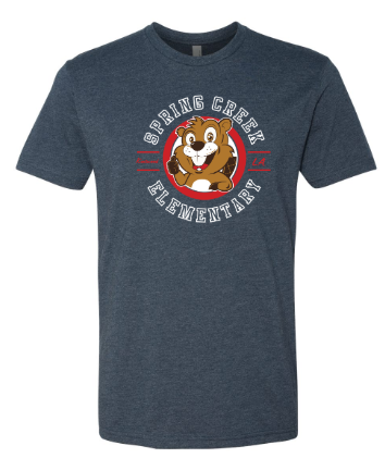 SCE - Adult Mascot Short Sleeve Tee *Available in 2 Color Options