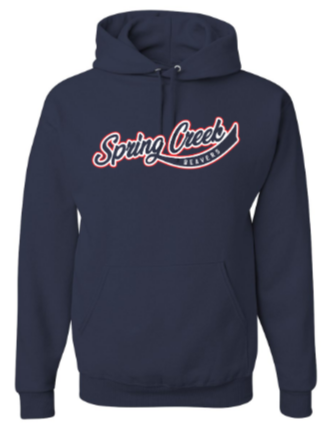 SCE - Adult Vintage Font Hooded Sweatshirt *Available in 3 Color Options