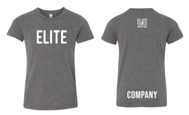 Elite Dance Force Company Youth Short Sleeve Tee