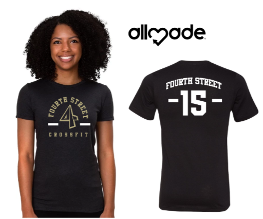 4th Street:  Allmade Edition - Saints Ladies Tee