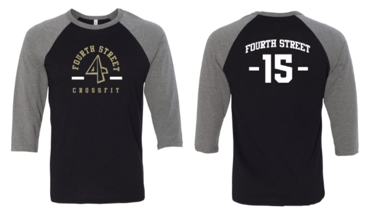 Employee - 4th Street:  Saints Unisex Raglan
