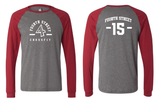 4th Street:  Bama Long Sleeve Jersey Baseball Tee