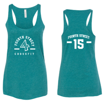 Employee - 4th Street:  Ladies Racerback *Available in 3 Color Options