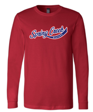 SCE - Adult Vintage Font Long Sleeve Tee *Available in 2 Color Options