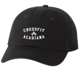 CFA Core:  Embroidered Unstructured Dad's Cap *Available in 3 Color Options