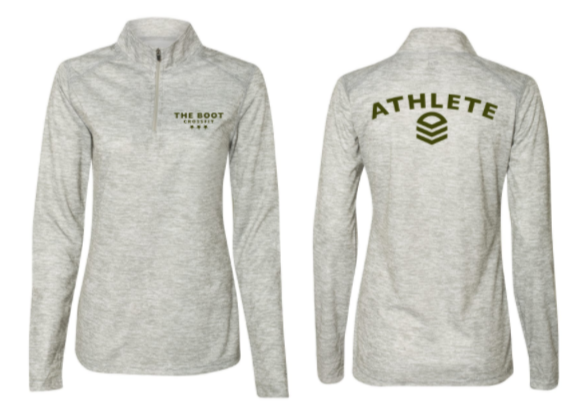 TBCF - Athlete Quarter-Zip Pullover (Ladies Fit)