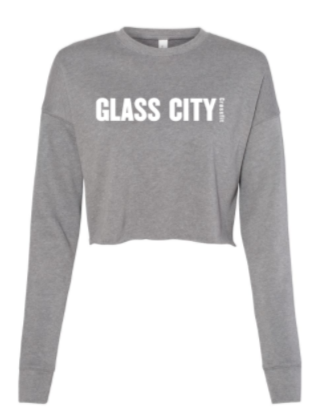 GCCF:  Ladies Cropped Crew Fleece *Available in 2 Color Options