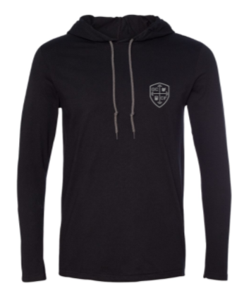 GCCF:  Unisex Hooded Long Sleeve Tee *Available in 2 Color Options