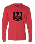 Crossfit 171:  Long Sleeve Hooded Tee  *Available in 2 Color Options