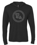 Crossfit 171:  Tonal Long Sleeve Hooded Tee