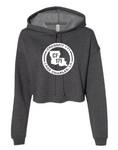 Crossfit 171:  Ladies Cropped Fleece Hoodie *Available in 2 Color Options