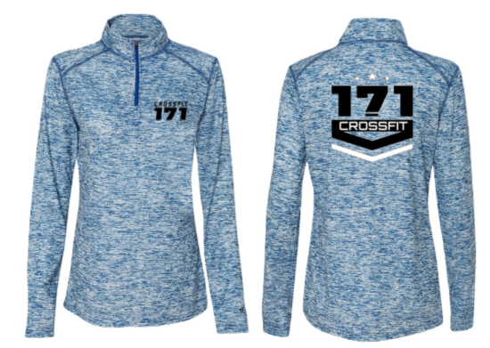 Crossfit 171:  Ladies 1/4 Zip Pullover *Available in 5 Color Options