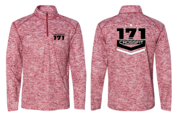 Crossfit 171:  Unisex 1/4 Zip Pullover *Available in 4 Color Options