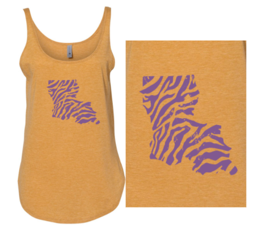 Tiger Boot - Ladies Tank