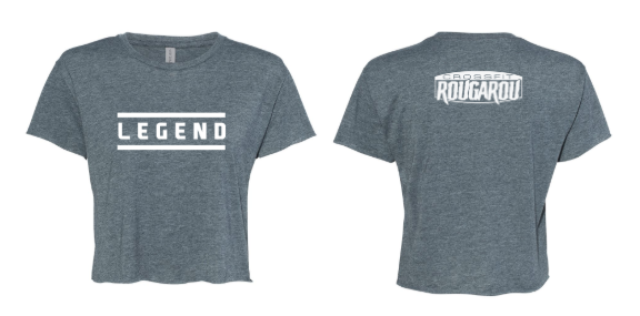 CFR:  I am Legend Cropped Tee *Available in 2 Color Options