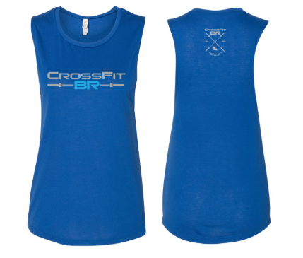 CFBR - Barbell Logo Ladies Muscle Tank *Available in 3 Color Options